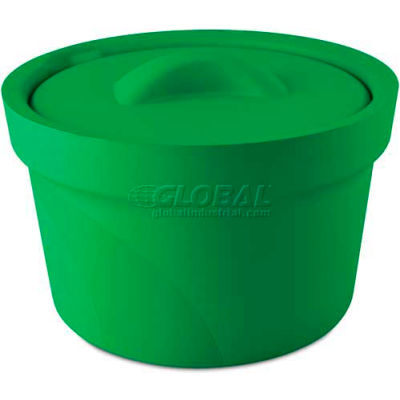Bel-Art Magic Touch 2™ Ice Bucket with Lid 168072004, 2.5 Liter, Green, 1/PK