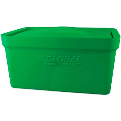 Bel-Art Magic Touch 2™ Ice Pan with Lid 168079104, 9.0 Liter, Green, 1/PK