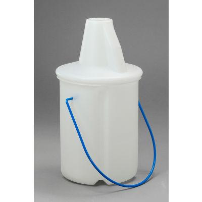 Bel-Art Cone Style Acid/Solvent Bottle Carrier 169570000, Polyethylene, Holds 2.5L Bottle, 1/PK