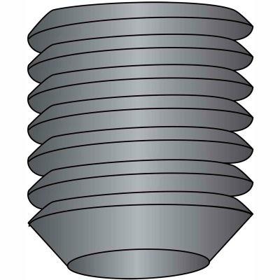 "Socket Set Screw - 8-32 x 1/8"" - Cup Point - Steel Alloy - Thermal Black Oxide - UNC - 100 Pk"