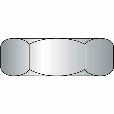 Heavy Hex Nut - 3/8-16 - Steel - Zinc CR+3 - UNC - Grade A - ASTM A563 - Pkg of 100 - BBI 320100