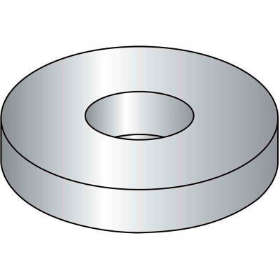"""Flat Washer - 3/8"""" x 7/8"""" x 0.062"""" - 18-8 (A2) Stainless Steel - Pkg of 100 - Brighton-Best 390120"""