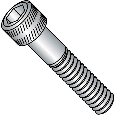 Socket Cap Screw - M8 x 1.25 x 35mm - Steel - Black Oxide - Class 12.9 - FT - UNC - 100 Pk