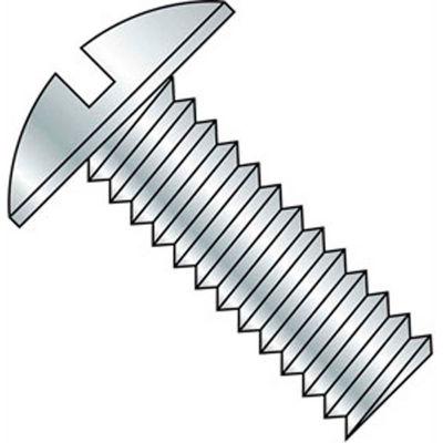 """1/4-20 x 3/4"""" Machine Screw - Truss Head - Slotted - Steel - Zinc CR+3 - FT - 100 Pk - BBI 584623"""
