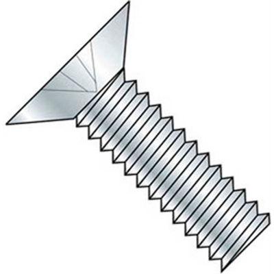 "10-24 x 5/8"" Machine Screw - Flat Head - Phillips - Steel - Zinc CR+3 - FT - Pkg of 100 - BBI 586419"