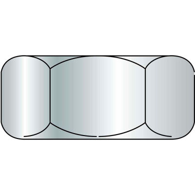 Finished Hex Nut - 1/4-20 - 18-8 (A2) Stainless Steel - UNC - Pkg of 100 - Brighton-Best 762036