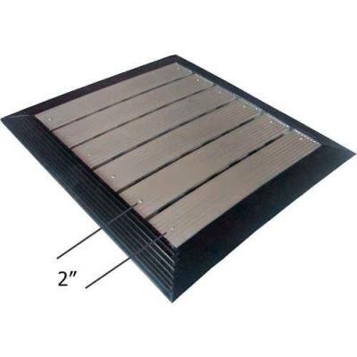 "Babcock-Davis® Roll Up Entrance System M-1050, Vinyl Hinge, Aluminum Rail, 99-1/4""W X 99-1/4""D"