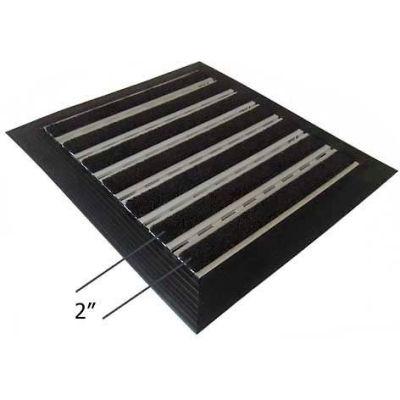 "Babcock-Davis® Roll Up Entrance System M-600, Aluminum Hinge & Rail, 75-1/4""W X 51-1/4""D"