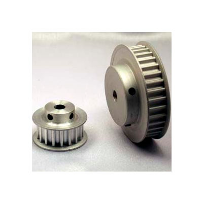 12 Tooth Timing Pulley, (Htd) 5mm Pitch, Clear Anodized Aluminum, 12-5m09-6fa3 - Min Qty 8