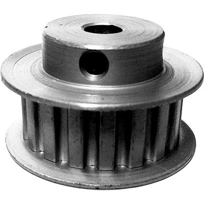 """18 Tooth Timing Pulley, (Xl) 1/5"""" Pitch, Clear Anodized Aluminum, 18xl037-6fa3 - Min Qty 8"""