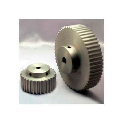 60 Tooth Timing Pulley, (Htd) 5mm Pitch, Clear Anodized Aluminum, 60-5m15-6a5 - Min Qty 2