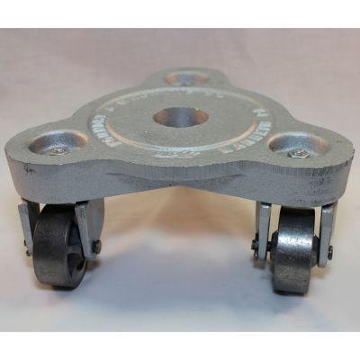 Bond® Cast Iron Triangular Dolly 2076 - Semi Steel Wheels - 525 Lb. Capacity