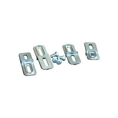 Bud Anx-1390-B Die Cast Mounting Bracket Kit Black - Min Qty 15