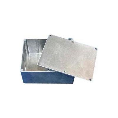 """Bud Cn-5707 Cn-Series Die Cast Aluminum Enclosure 5.47"""" L X 4.01"""" W X 3.05"""" H - Min Qty 6"""