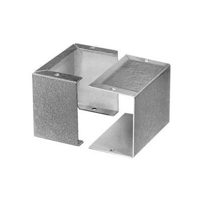 """Bud Cu-2102-B Aluminum Alloy Minibox 4.00"""" L X 2.12"""" W X 1.62"""" H Smooth Gray - Min Qty 11"""