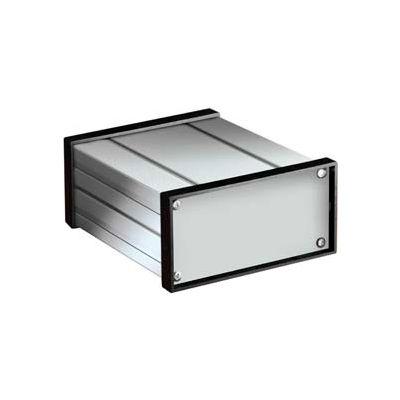 """Bud Ex-4523 Extruded Aluminum Box 6.14"""" W X 9.32"""" L X 3.18"""" H - Min Qty 3"""
