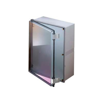 "Bud NBE-10573 UL/NEMA/IEC NBE Series with Clear Door 19.17"" L x 14.64"" W x 7.85"" H"