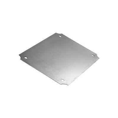 """Bud Nbx-10984 Steel Internal Panel 4.9"""" W X 4.9"""" H - Min Qty 20"""