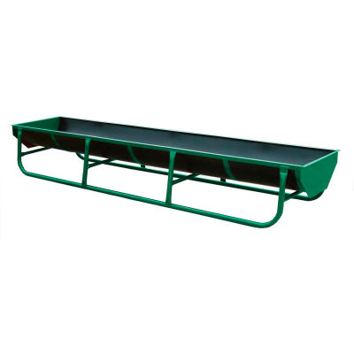 """Behlen Country 11' L Standard Bunk With Square Ends And 5 2"""" Straps 130""""L x 34""""W x 20""""H, Green"""