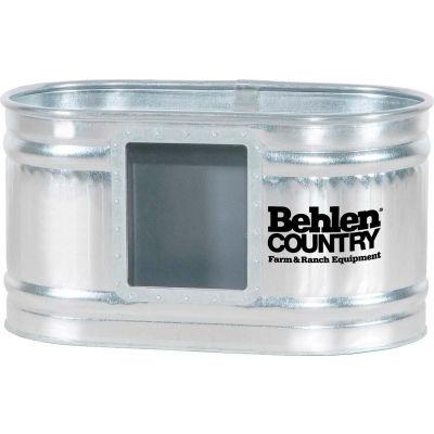 Behlen Country Galvanized Hog Waterer 501300281 2'x2'x4' Galvanized Hog Waterer