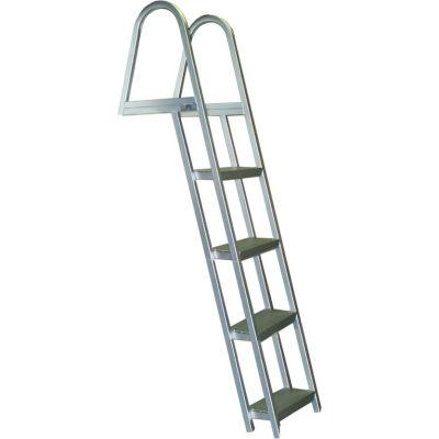 Bearcat 4 Step Aluminum Angled Boat Dock Ladder - L65