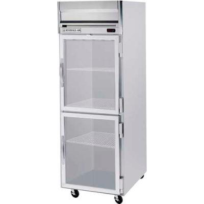"Beverage Air® HF1HC-1HG Reach-In Freezer Horizon Series Glass & Half-Glass Doors, 26""W"