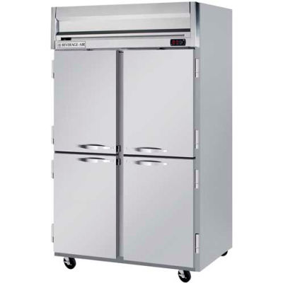 "Beverage Air® HFPS2HC-1HS Reach-In Freezer Horizon Series Solid & Half-Solid Doors, 52""W"