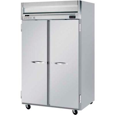 "Beverage Air® HFPS2HC-1S Reach-In Freezer Horizon Series Solid & Half-Solid Doors, 52""W"