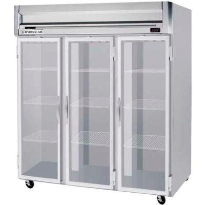 "Reach-in Freezer Horizon Series Glass & Half-Glass Doors, 78""W - HFPS3HC-5G"
