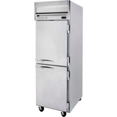 """Reach-in Freezer Horizon Series Solid & Half-Solid Doors, 26""""W - HFS1HC-1HS"""