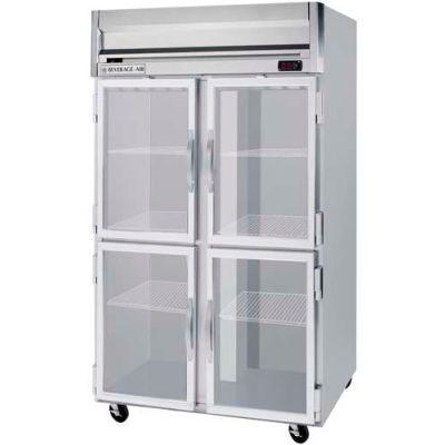 "Reach-in Freezer Horizon Series Glass & Half-Glass Doors, 52""W - HFS2HC-5HG"