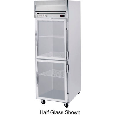 Beverage Air® HR1HC-1G Reach In Refrigerator 24 Cu. Ft. Stainless Steel