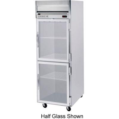 Beverage Air® HRPS1HC-1G Reach In Refrigerator 24 Cu. Ft. Stainless Steel