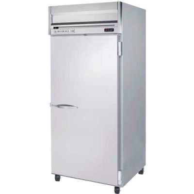 Beverage Air® HRPS1WHC-1S Reach In Refrigerator 34 Cu. Ft. Stainless Steel