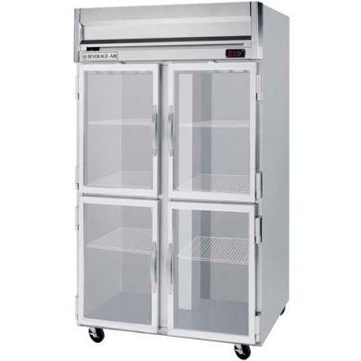 Beverage Air® HRPS2HC-1HG Reach In Refrigerator 49 Cu. Ft. Stainless Steel