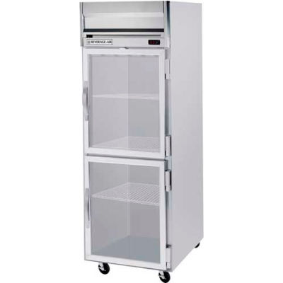 Beverage Air® HRS1HC-1HG Reach In Refrigerator 24 Cu. Ft. Stainless Steel