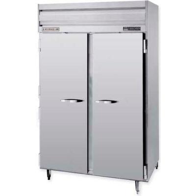 "Beverage Air® PRF24HC-24-1AHS-02 Dual Temp Reach-In S PRF Series Solid & Half-Solid Doors 52""W"