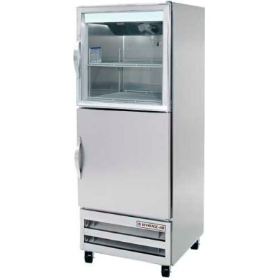 Beverage Air® RI18HC-HGS Reach In Refrigerator 18 Cu. Ft. Stainless Steel