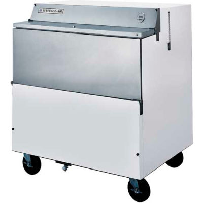 """Beverage Air® SMF34HC-1-W School Milk Coolers Single Access, Forced-Air Smf Series, 34""""W"""