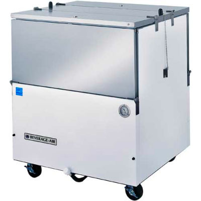 "School Milk Coolers Dual Access, Cold Wall ST Series, 34""W - ST34NHC-W"