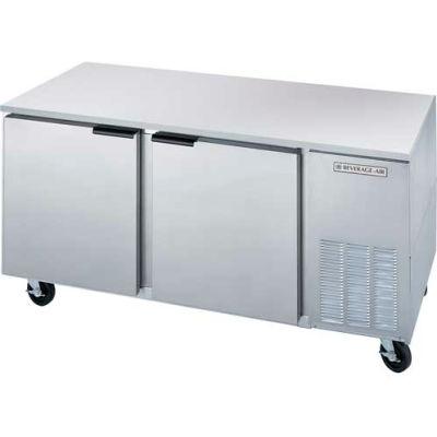 "32""D Undercounter Refrigerator & Freezer Food Prep Series, 67""W - UCF67AHC"
