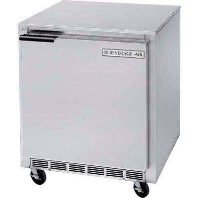 "Shallow Undercounter Refrigerator & Freezer Food Prep Series, 27""W - UCR27HC"