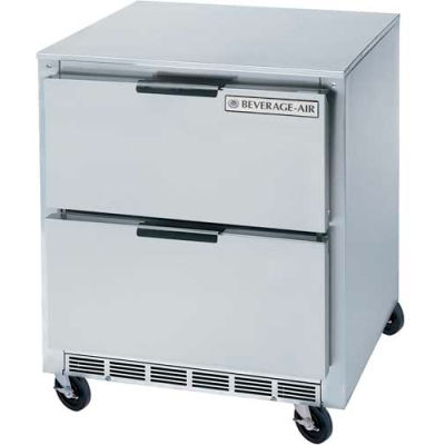 "Undercounter Refrigerator w/ Drawers UCRD 29""D Series, 27""W - UCRD27AHC-2"