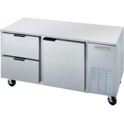 """Undercounter Refrigerator w/ Drawers UCRD 29""""D Series, 72""""W - UCRD72AHC-2"""