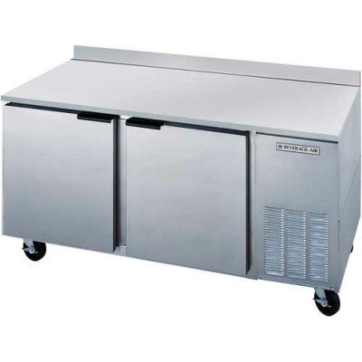 """Beverage Air® WTR72AHC Worktop Refrigerator 29"""" Base Model Series, 72""""W"""