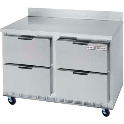 """Beverage Air® WTRD60AHC-2 Worktop Refrigerator With Drawers Word 29""""D Series, 60""""W"""