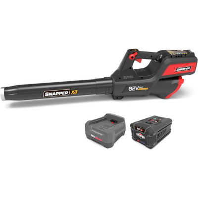 Snapper 1687879 XD 82V 130MPH 550CFM Cordless Handheld Blower Kit W/ 2.0Ah Battery & Charger