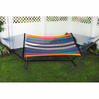 Bliss Classic Cotton Rope Hammock, 2 Person, Multicolor