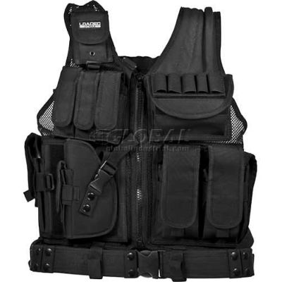 "Barska Loaded Gear VX-200 Tactical Vest (Left Handed Use), 22""L x 38-50""W"