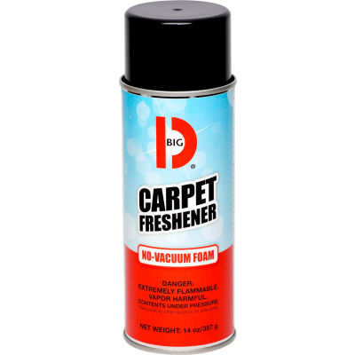 Big D Carpet Freshener, 14 oz. Aerosol Can, 12 Cans - 241